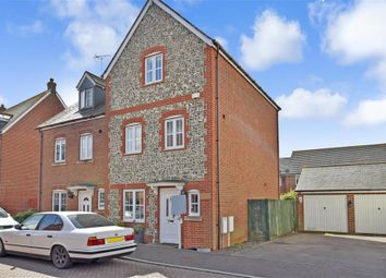 Thumbnail 4 bed town house for sale in Hazel Road, Angmering, West Sussex
