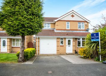 Thumbnail 3 bed detached house for sale in Overdale Court, Choppington