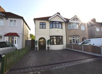 Thumbnail 3 bed semi-detached house for sale in Warriner Avenue, Hornchurch