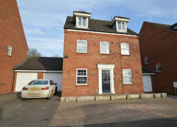 Thumbnail 4 bedroom detached house for sale in Navigation Drive, Glen Parva, Leicester