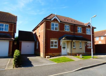 Thumbnail 3 bed semi-detached house to rent in Micklefield Way, Seaford