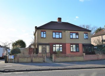 Thumbnail 3 bed semi-detached house for sale in Jutsums Lane, Romford