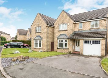 Thumbnail 4 bed detached house for sale in Crake Drive, Queensbury, Bradford