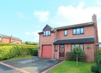 Thumbnail 4 bed detached house for sale in Alder Close, Loggerheads, Near Market Drayton