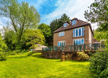 Thumbnail 5 bed detached house for sale in Westerham Road, Oxted, Surrey