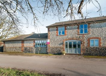 Thumbnail 4 bed barn conversion for sale in Old Severalls Road, Methwold Hythe, Thetford