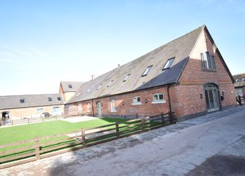 The Shippon, Aychley Barns, Market Drayton TF9. 4 bed barn conversion for sale