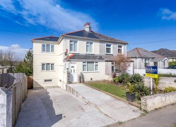 Thumbnail 4 bed semi-detached house for sale in Liskeard Road, Saltash, Cornwall