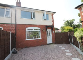 Thumbnail 3 bed semi-detached house for sale in Rutland Avenue, Urmston, Manchester