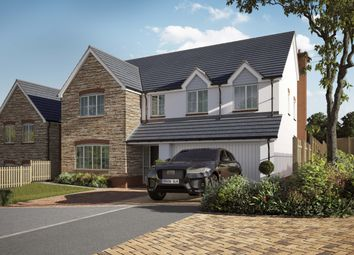 Thumbnail 5 bed detached house for sale in Willow Walk, Lea, Ross-On-Wye, Herefordshire