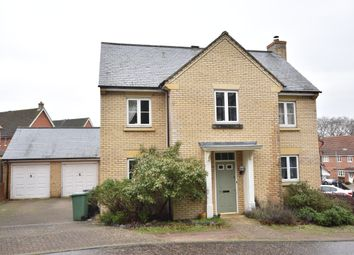 Thumbnail 4 bed detached house to rent in Comfrey Way, Thetford