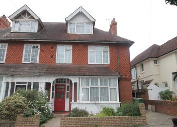 Thumbnail 3 bed flat for sale in Collington Avenue, Bexhill-On-Sea