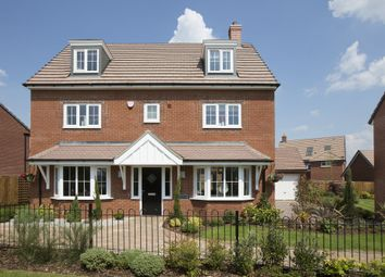 "Thumbnail 5 bed detached house for sale in ""Stratford"" at Blackthorn Crescent, Brixworth, Northampton"