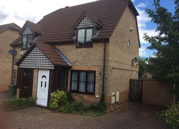 Thumbnail 2 bed semi-detached house for sale in Specklands, Loughton, Milton Keynes