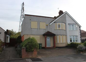 Thumbnail 5 bed semi-detached house for sale in Yorkland Avenue, Welling, Kent