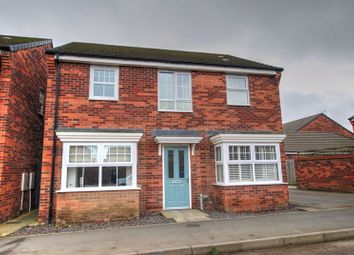 Thumbnail 4 bed detached house for sale in Haggerston Road, Crofton Grange Estate, Blyth