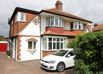 Thumbnail 4 bed semi-detached house for sale in Glenwood Road, Stoneleigh, Epsom