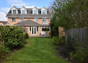 Thumbnail 4 bed semi-detached house to rent in Burrows Drive, Huntingdon