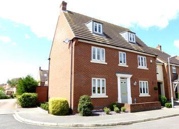 Thumbnail 5 bedroom detached house for sale in Hornscroft Park, Kingswood Park, Hull
