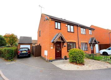 Thumbnail 3 bed semi-detached house for sale in St. Georges Close, Newbold Verdon, Leicester