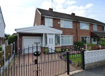 Thumbnail 4 bed semi-detached house for sale in Bowerfield Crescent, Hazel Grove, Stockport