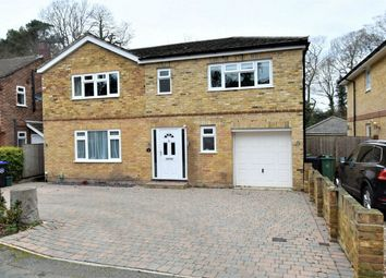 Thumbnail 5 bed detached house for sale in Hall Close, Camberley, Surrey