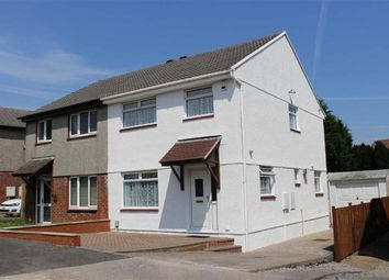 Thumbnail 3 bed semi-detached house for sale in Huntingdon Way, Sketty, Swansea
