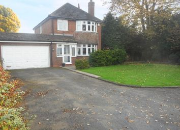 Thumbnail 3 bed detached house for sale in Stafford Road, Fordhouses, Wolverhampton