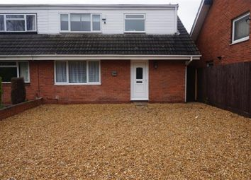 Thumbnail 3 bed semi-detached house for sale in Lanchester Way, Castle Bromwich, Birmingham
