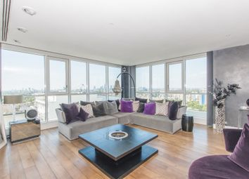 Thumbnail 3 bedroom penthouse to rent in Eaton House, Westferry Circus, Canary Wharf