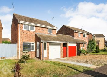 Thumbnail 3 bed link-detached house for sale in Lackford Close, Brundall, Norwich