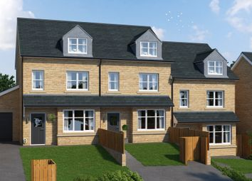 Thumbnail 4 bed terraced house for sale in Hutton Hall Drive, Bradford