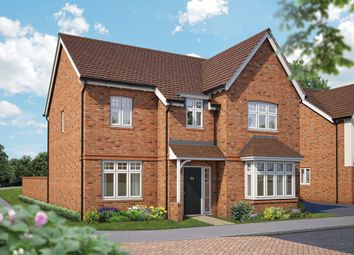 "Thumbnail 5 bed detached house for sale in ""The Birch"" at Canon Ward Way, Haslington, Crewe"