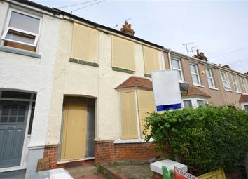 Thumbnail 3 bed terraced house for sale in Hastings Avenue, Margate, Kent
