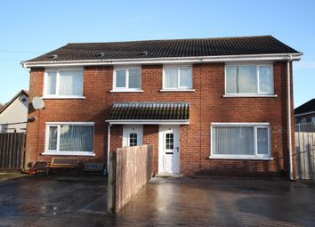 Thumbnail 3 bedroom semi-detached house for sale in Blacks Road, Belfast