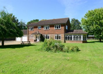 Thumbnail 4 bedroom detached house to rent in Runcton Lane, Runcton, Chichester.