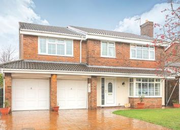 Thumbnail 5 bed detached house for sale in Turnberry Drive, Wilmslow, Cheshire, .