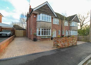 Thumbnail 4 bed semi-detached house for sale in Whitehaven Road, Bramhall, Stockport