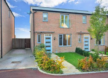 Thumbnail 3 bed semi-detached house for sale in Chatham Reach, Amherst Hill, Gillingham, Kent