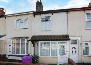 Thumbnail 2 bed terraced house for sale in Bolton Road, Wednesfield, Wolverhampton, West Midlands