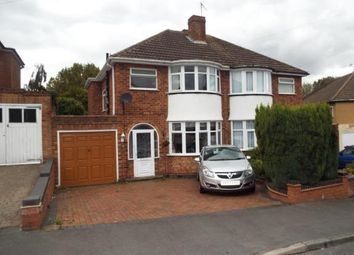 Thumbnail 3 bed semi-detached house for sale in High Brink Road, Coleshill, Birmingham, Warwickshire