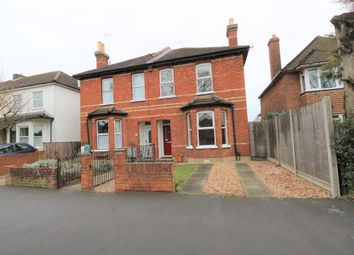Thumbnail 3 bed semi-detached house to rent in Reading Road, Farnborough