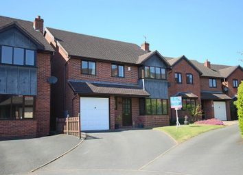 Thumbnail 4 bed detached house for sale in Steppes Way, Childs Ercall, Market Drayton