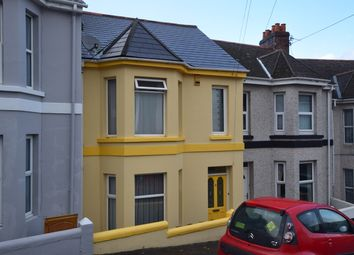 Thumbnail 3 bed terraced house for sale in Mostyn Avenue, Plymouth