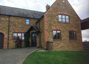 Thumbnail 4 bedroom detached house to rent in Folly Lane, Little Brington, Northampton