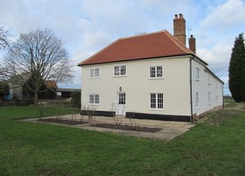 Thumbnail 6 bed farmhouse to rent in Badley, Stowmarket