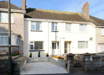 Thumbnail 3 bed terraced house to rent in Hartop Road, Torquay