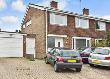 Thumbnail 3 bed semi-detached house for sale in Furnace Drive, Furnace Green, West Sussex