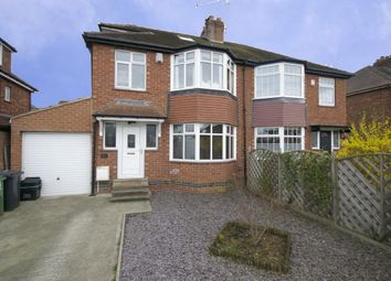 Thumbnail 4 bed semi-detached house for sale in Danebury Drive, Acomb, York