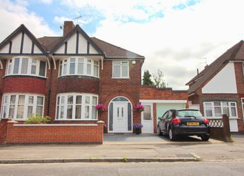 Thumbnail 3 bed semi-detached house for sale in Greystone Avenue, Leicester